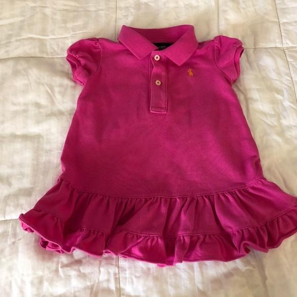29050274 Ralph Lauren baby girl dress 9 months old pink